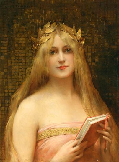 A Classical Beauty, Leon Francois Comerre (22X30)