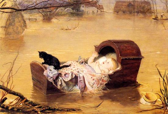 A  Flood, Sir John Everett Millais