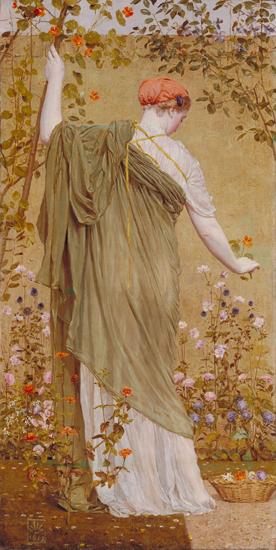 A Garden, Albert Moore
