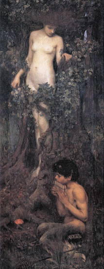 A Hamadryad, John William Waterhouse