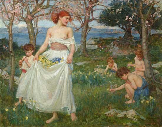 A Song of Springtime, Waterhouse