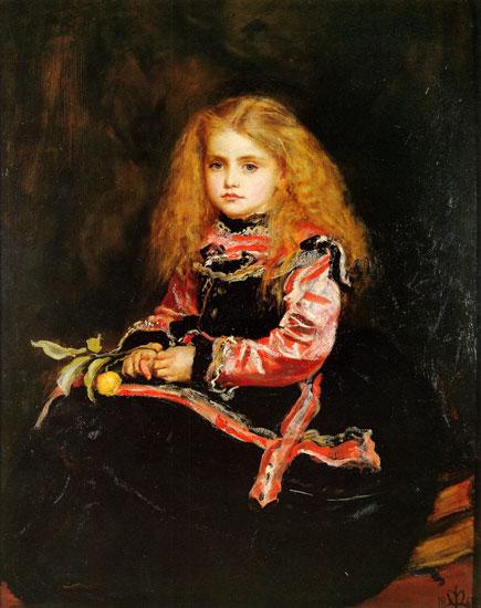 A Souvenir of Velazquez, Sir John Everett Millais (17.4X22)