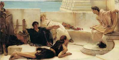 A Reading of Homer, Sir Lawrence Alma-Tadema