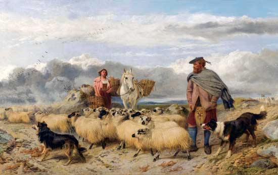 Gathering the Flocks, Richard Ansdell