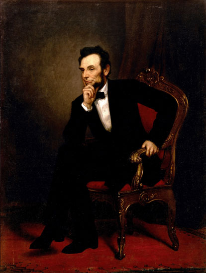 Abraham Lincoln, Alexander Healy (22X290