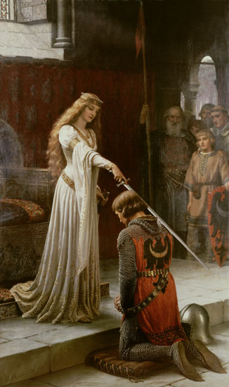 The Accolade , Edmund Blair Leighton