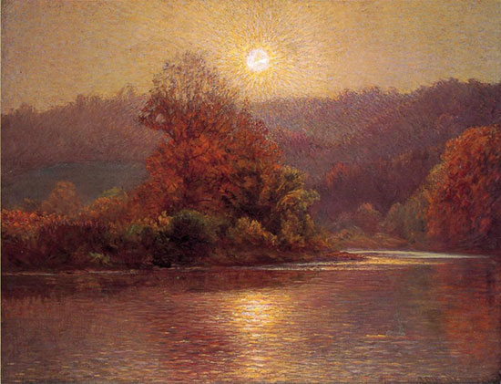 The Closing of an Autumn Day, John Ottis Adams (22X28.75)