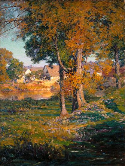 Thornberry's Pasture, John Ottis Adams (22X29)