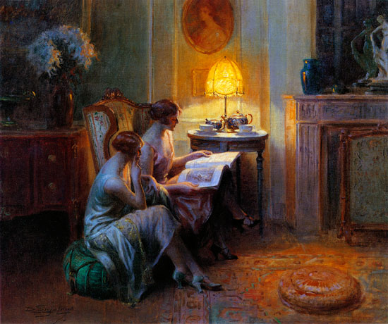 After Tea, Delphin Enjolras (16.5X22)