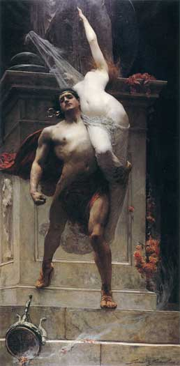 Ajax and Cassandra, Solomon Joseph Solomon (16X34)