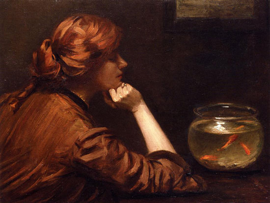 An Idle Moment, John White Alexander