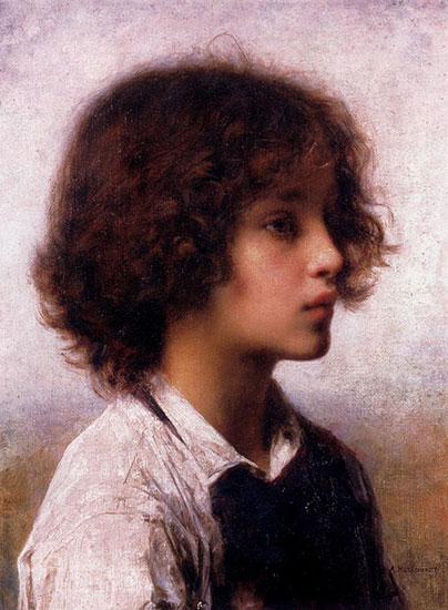 Far Away Thoughts,Alexei Alexeivich Harlamoff (16.1X21)