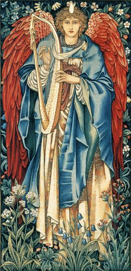 Alleluia, Edward Burne-Jones (10.6X22)