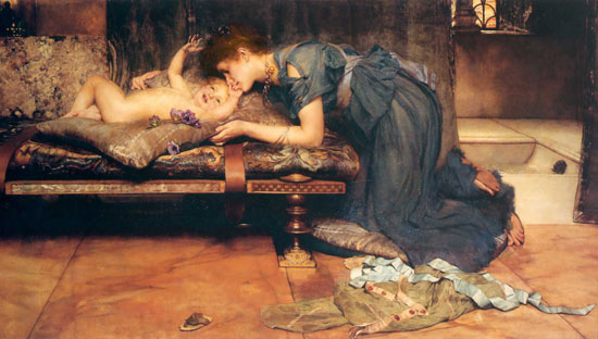 An Earthly Paradise, Sir Lawrence Alma-Tadema,