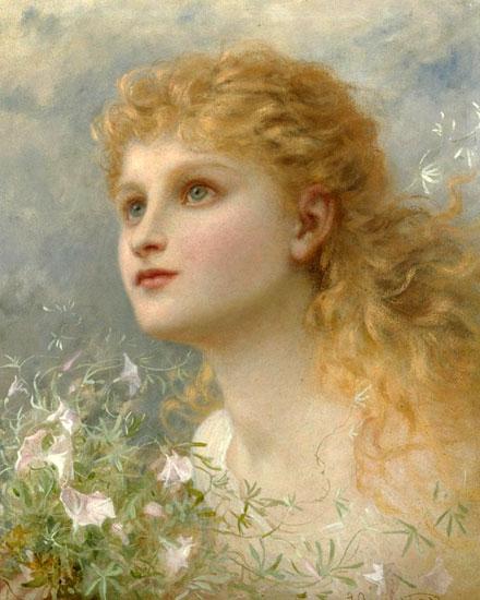 Heavenwards, Sophie Anderson (16x20)