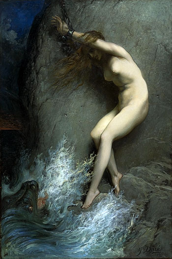 Andromeda, Dore (16X24)