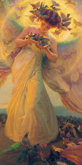 Angel of the Birds, Franz Dvorak