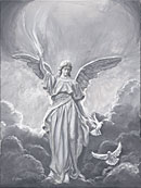 Angel with Doves