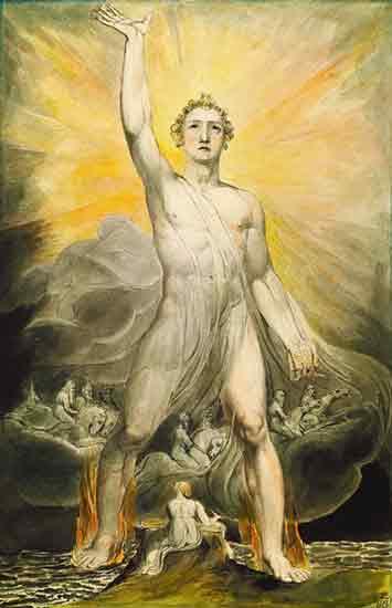 Angel of Revelation, William Blake