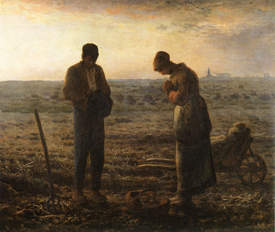 The Angelus, Millet (18.5X22