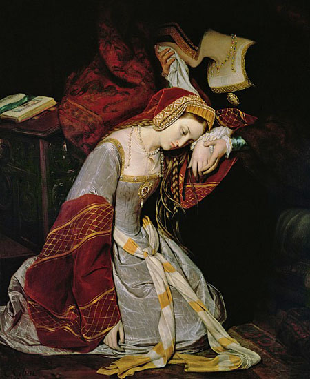 Anne Boleyn in the Tower, Edouard Cibot