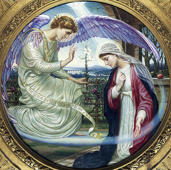 The Annunciation, Edward A. Fellowes Prynne (12X12)