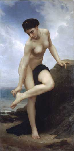 Apres le Bain -1875, William Bouguereau