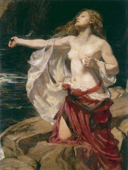 Ariadne, Herbert James Draper, print on canvas
