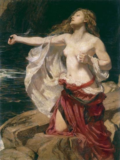 Ariadne, Herbert James Draper(16.5X22)