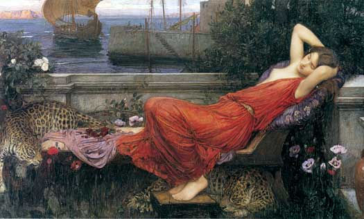 Ariadne, John William Waterhouse
