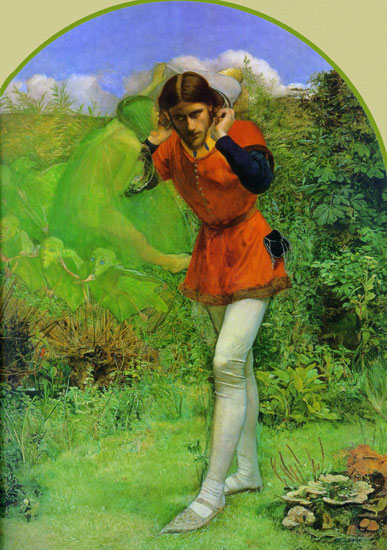 Ariel, Sir John Everett Millais