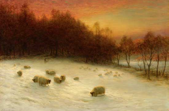 As the West Wood Evening Glows, Farquharson (21X32)