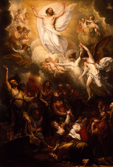 The Ascension, Benjamin West
