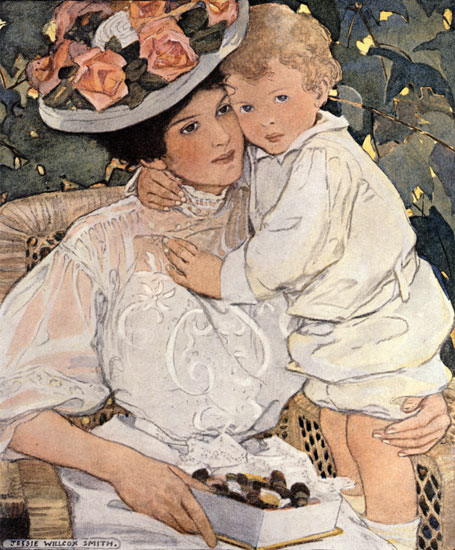 Auntie, Jessie Willcox Smith