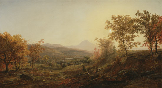 Autumn, Mount Chocorua, Jasper Francis Cropsey(24X44)