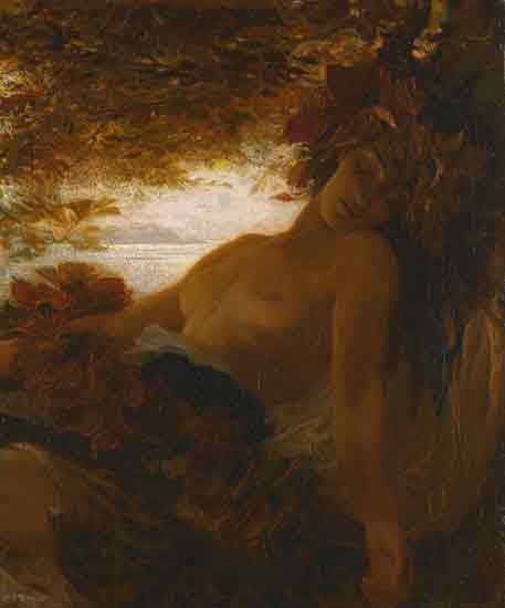Autumn, Herbert James Draper