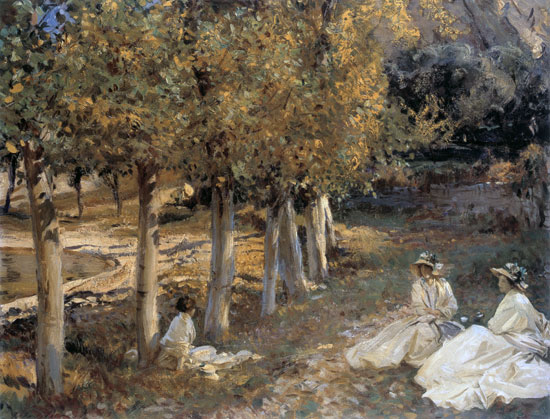 Autumn Leaves, John Singer Sargent (16X21)