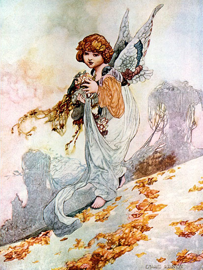 Autumn, Charles Robinson (12x16)