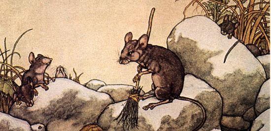 Autumnal Mice, Charles Robinson (10.6X22)