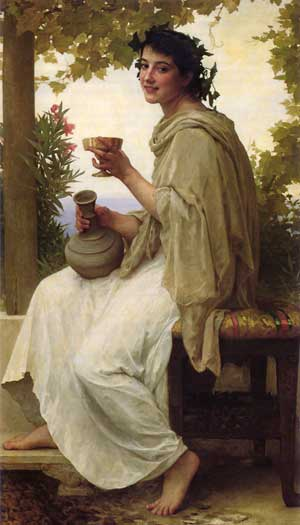 Bacchante William-Adolphe  Bouguereau