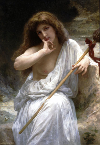 Bachante, Bouguereau (16X23)