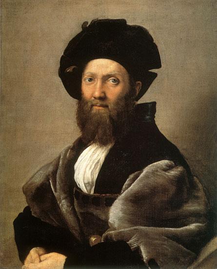 Baldassare Castiglione, Raphael (18X22.25)