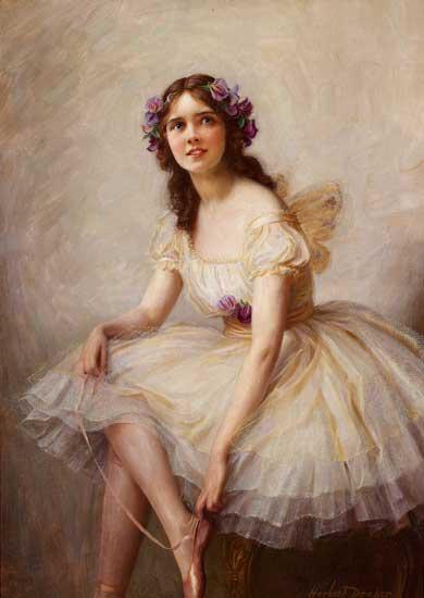 Ballerina, Herbert James Draper (22X31)