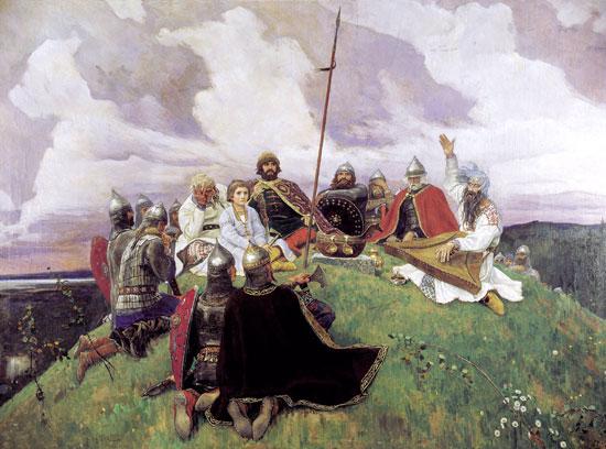 Bayan, Victor Mikhailovich Vasnetsov (22X29.6)