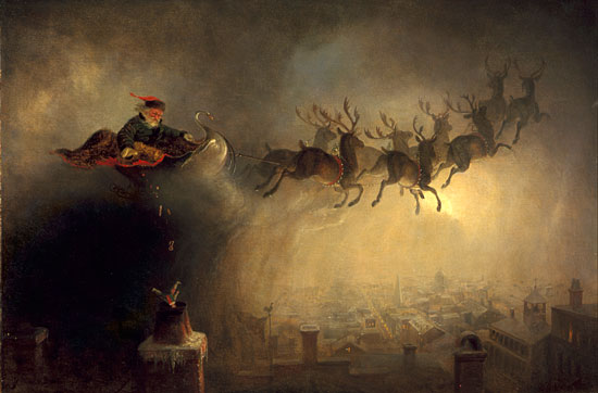 Santa Claus, William Holbrook Beard  (22X33.5)