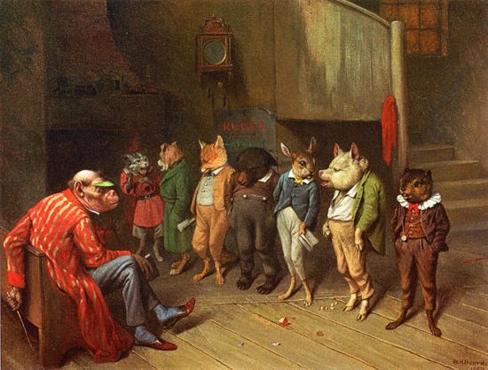 School Rules, William Holbrook Beard