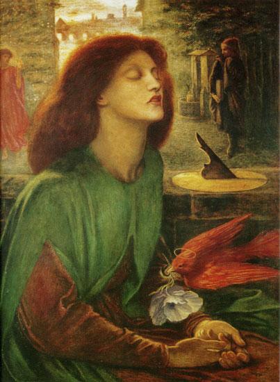 Beata-Beatrix, Rossetti (24X32.75)