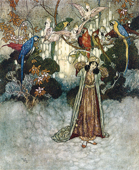 Beauty and the Beast, Edmund Dulac