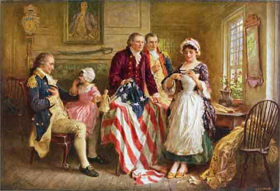Betsy Ross 1777, Ferris (15X22)