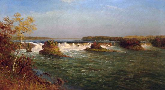 The Falls of Saint Anthony, Albert Bierstadt (22X40)